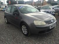 2005 VOLKSWAGEN GOLF 1.6 SE FSI RARE AUTOMATIC 5 DOOR