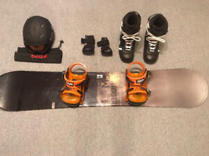 SnowBoard and Bundle
