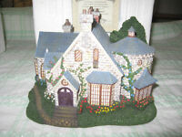 Beautiful Christmas Hawthorn series village for sale