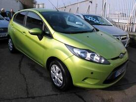 2009 09 Ford Fiesta 1.6TDCi Econetic 5 Door Met Leaf Green (Free R/Tax ) Diesel
