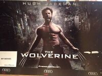 Wolverine poster used for the London Premier in 2013