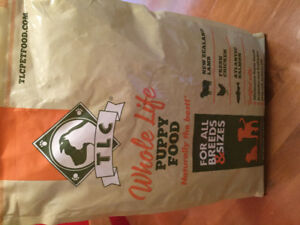TLC Puppy Food 15lb bag - unopened