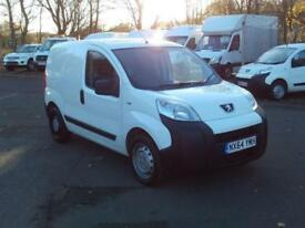 Peugeot Bipper 1.3 HDI 70bhp Van DIESEL MANUAL WHITE (2014)