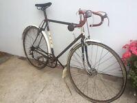 Vintage/ classic racing bike. BSA.