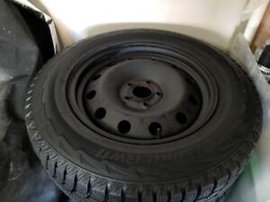 Acura MDX (2014-2015) 235/65R17 Winter Tires on Rims 5X114.3 lug