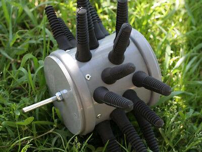43mm Geflügelrupfmaschine Rupfmaschine 15 Finger mit Halter aluminium