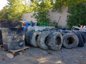 Mixed used tires