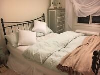 King Sized Bed & Mattress £80 Ono