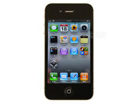 Apple I-Phone 4, Black 16G with USB charger cable & charger