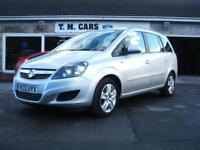2013 Vauxhall/Opel Zafira 1.7CDTi ecoFLEX Exclusiv NAV **7 Seater**
