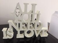 Little all you need is love sign