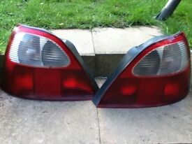 Mg zr rear lights