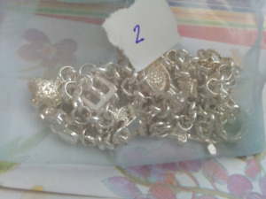 Silver Plated Charm Necklace