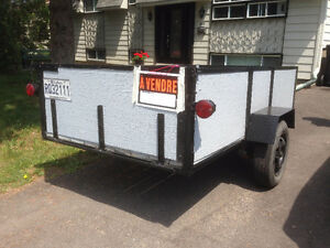 Well-maintained Trailer