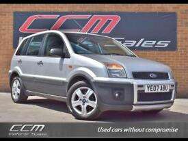 Ford Fusion 1.4 TDCi Pursuit Climate 5DR 2007 FULL HISTORY + SUNROOF + WARRANTY