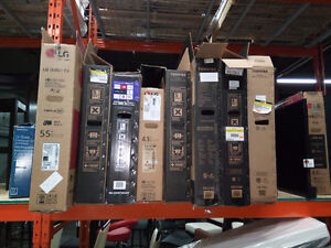30 TVs For Parts or Repair  - Working Units - Damaged Screen etc