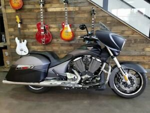 2014 Victory Motorcycles Cross Country Factory Custom Paint Sued
