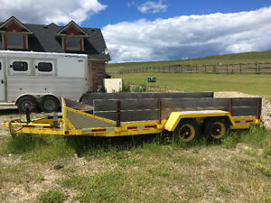 10000 Pound Car Hauler Trailer