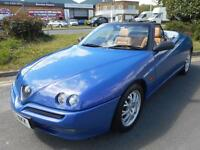 Alfa Romeo Spider 2.0 T.Spark 16v 2dr£4,000 NO FINANCE PROPOSAL REFUSED 1999