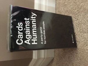Cards against Humanity New in sealed package