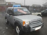 Land Rover Discovery 3 2.7TD V6 2007 GS 7 SEATER, 6 SPEED MANUAL