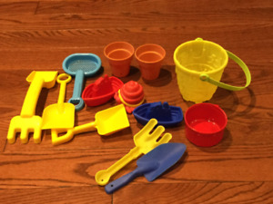 Sand and Water Play Toys - Some Brand New!