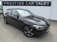 2014 BMW 1 Series 2.0 116d Sport Sports Hatch (s/s) 5dr Diesel black Manual