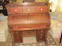 Antique Roll Top Desk (reduced)