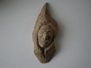 "Six Nations Soapstone Carving - "" Ben Henry "" Kitchener / Waterloo Kitchener Area image 10"
