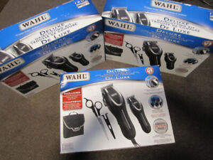 Wahl Deluxe Hair Cutting Kit -Storage Case etc, open box - $28