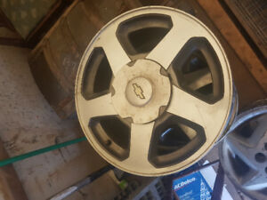 Chevy 16 inch 6 bolt rims forsale