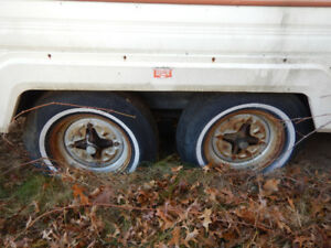 Trailer for sale with 4 bolt rims