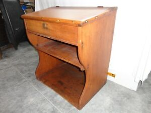 130 Year Old Antique Student Desk