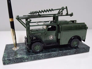1950s AT&T Dodge BELL POWER WAGON TRUCK pen holder MARBLE Cambridge Kitchener Area image 6