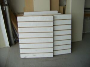 Various Sizes White Slot Board - Located South Side