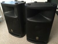 Yamaha MSR400 / MSR 400 PA System Active Speakers and Covers