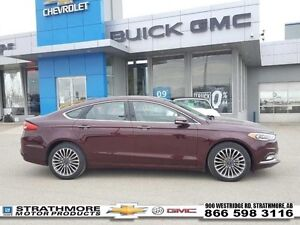 2017 Ford Fusion Low km-AWD-NAV-Leather-Moonroof-Tech Pkg  - Cer