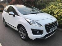 PEUGEOT 3008 BLUE HDI S-S ALLURE 2016 Diesel Automatic in White