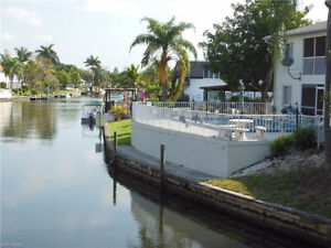 Gulf Access Condo $100,000 Cape Coral Florida USA