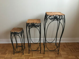 Plant stand set