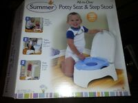 Potty Seat & step stool by Summer Infant