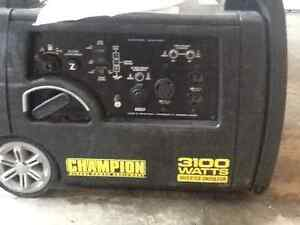 CHAMPION 3100WATTS GENERATOR