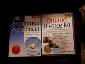 Separation/Divorce Books and CDs