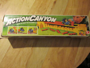 Lakeside Games Toys Puzzle Car Buggy ACTION CANYON  Rare Vintage