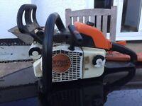 Stihl chainsaw ms200