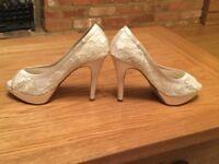 NEXT wedding shoes size 5