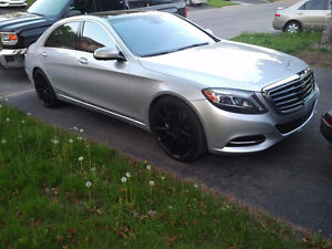 2014 Mercedes-Benz S550 LWB|4MATIC|DrverAsst,PremiumPck|Panoroof