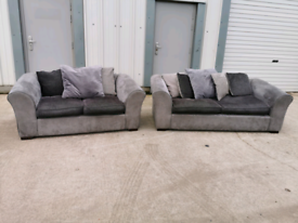 Grey Couch For Sale In Glasgow Sofas Couches Armchairs Gumtree
