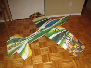 Avion RC large acrobatique/Large acrobatic RC airplane