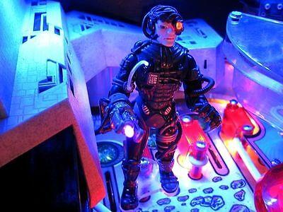Star Trek the Next Generation Pinball Machine SUPER Borg mod